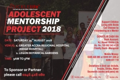 Adolescent Mentorship Project 2018