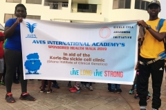 SCAI/AIA donates 25,000 Ghana Cedis to Korle-Bu Sickle Cell Unit