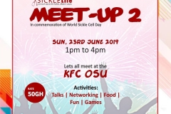 World Sickle Cell Day 2019: Meet Up